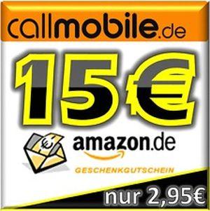 [EBAY] Callmobile Simkarte mit 10,- Euro Startguthaben für nur 2,95 Euro kaufen und z.B 15,- Euro Amazon Gutschein oder 64GB SanDisk Cruzer Blade USB Stick geschenkt!