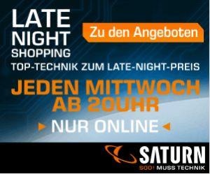 [SATURN] Late Night Shopping am Mittwoch – z.B. GOPRO HERO3 Black Edition Surf für nur 288,- Euro!