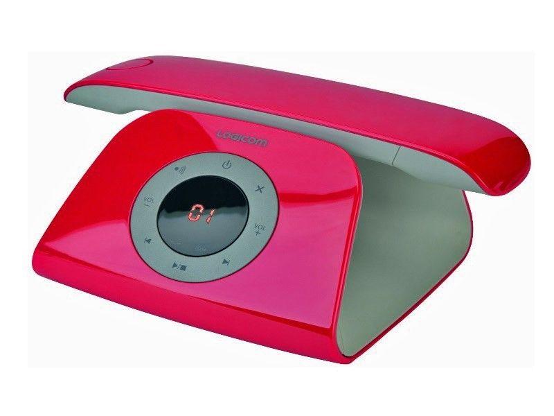 ebay wow schick logicom retro telefon schnurlos dect. Black Bedroom Furniture Sets. Home Design Ideas