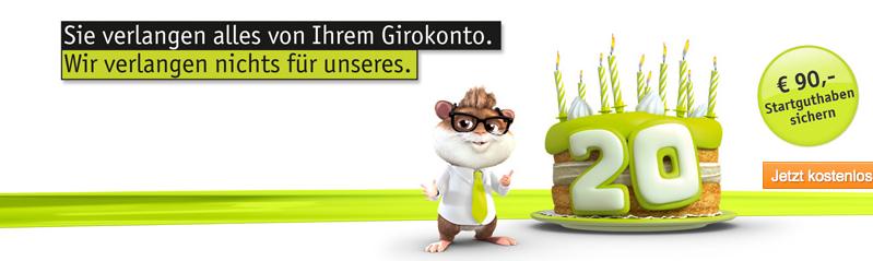 kostenloses DAB Bank Girokonto