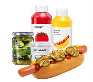 ikea perfekt zur wm hot dog party paket mit allen zutaten f r 32 hot dogs nur 19 95 euro. Black Bedroom Furniture Sets. Home Design Ideas