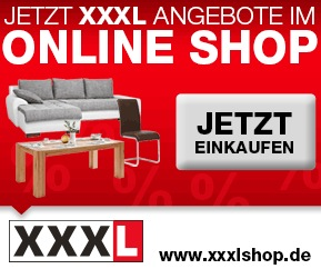 xxxl late night shopping aktion beim xxxl shop f r mindestens 150 euro bestellen mit. Black Bedroom Furniture Sets. Home Design Ideas