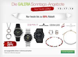 [GALERIA KAUFHOF] Galeria Sonntags Angebote! z.B. 13,5% Rabatt auf Parfümerie- & Pflegeartikel!