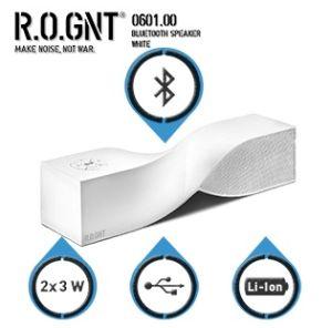 ROGNT 0.601.00 Bluetooth-Lautsprecher mit eingebautem Mikrofon und Geräuschunterdrückung für nur 30,90 Euro inkl. Versandkosten!