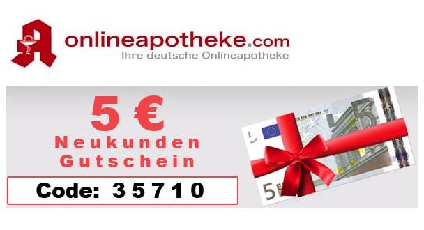 Online Apotheke Gutscheincode