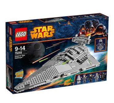 LEGO Star Wars Imperial Star Destroyer 75055 für nur 91,51 Euro bei Galeria-Kaufhof