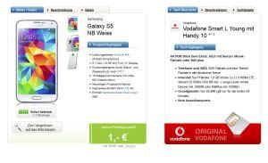 Vodafone Smart L Tarif mit aktuellen Top-Smartphones für nur 29,99 Euro monatlich, für Junge Leute mit Extra Datenvolumen und Musikflatrate!