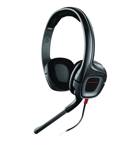 wow plantronics gamecom 307 headset kopfh rer mit. Black Bedroom Furniture Sets. Home Design Ideas
