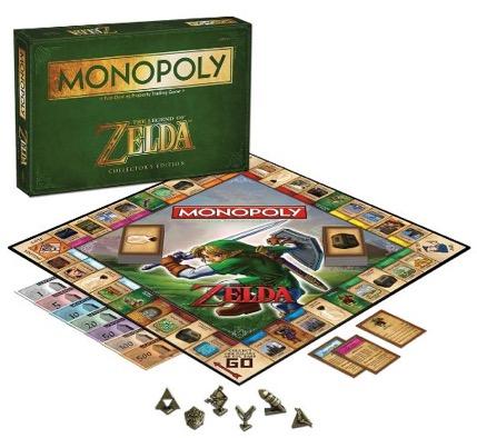 Nerdstuff! Gesellschaftsspiel Monopoly Zelda (auf Englisch) für nur 22,61 Euro inkl. Versand