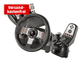 logitech g27 racing wheel f r nur 199 euro inkl versand bei media markt. Black Bedroom Furniture Sets. Home Design Ideas