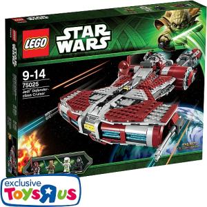 LEGO Star Wars – 75025 Jedi Defender-Class Cruiser für nur 69,98 Euro inkl. Versand!