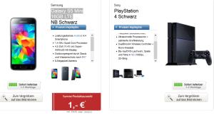 E-Plus MTV Mobile Tarif mit 300 Min, 500 MB Daten und Musikflat + Galaxy S5 Mini + PS4 für 29,95 Euro monatlich!