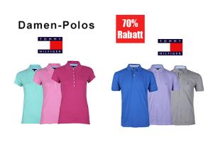 Nochmal reduziert! T-Shirts für Herren von Gant und Tommie Hilfiger ab 14,95 Euro und Hilfiger Polos für Damen für nur 27,95 Euro + 5,- Euro Gutscheincode!