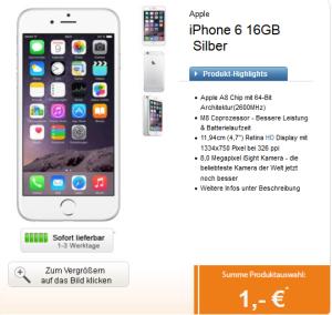 Logitel! Telekom Magenta Mobil S Tarif mit Allnet-Flat, SMS-Flat und 500 MB Daten + iPhone 6 oder Galaxy S6 + Akkupak + gratis Tablet für 39,95 pro Monat!
