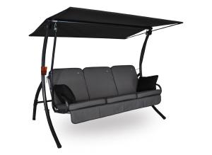 Angerer Primero Style Hollywoodschaukel Style in Grau als 3-Sitzer für nur 318,21 Euro inkl. Lieferung bei Amazon!