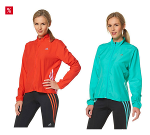 otto tagesdeal adidas performance laufjacke f r damen in orange oder t rkis f r 18 98 euro inkl. Black Bedroom Furniture Sets. Home Design Ideas