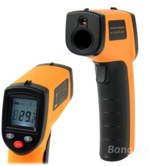 GM320 Infrarot Thermometer mit Laser (-50° bis 330° C) für nur 7,17 Euro inkl. Versand bei Banggood!