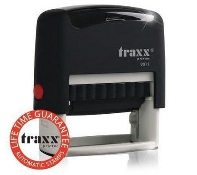 Wieder da! Traxx 9011 Marken-Stempel 4-zeilig nur 3,99 Euro inkl. Versand