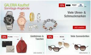 Knaller! Die Galeria Kaufhof Sonntags-Angebote am 13. September – nur heute noch mit 12,- Euro Gutscheincode