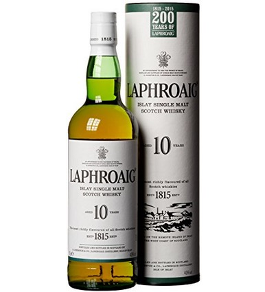 Prooost! Laphroaig 10 Jahre Islay Single Malt Scotch Whisky (1x 0,7 Liter) nur 26,99 Euro inkl. Versand