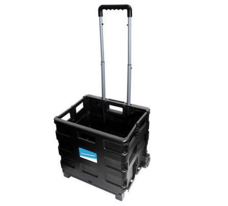 Silverline 633400 Klappbarer Kastenkarren 25kg für nur 9,95 Euro inkl. Prime-Versand!