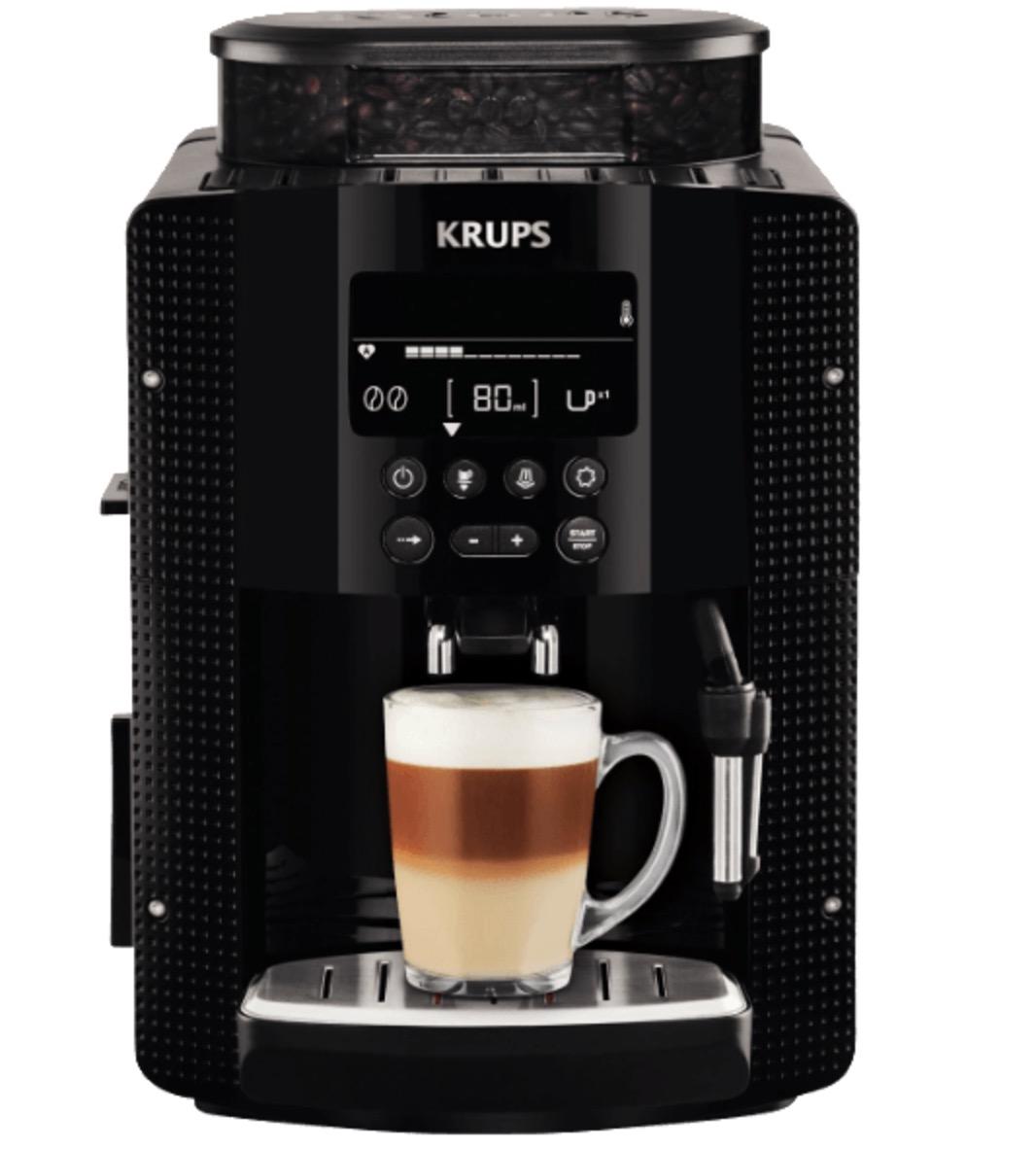 Krups Kaffeevollautomat EA8150 in Schwarz für nur 229,- Euro inkl. Versand