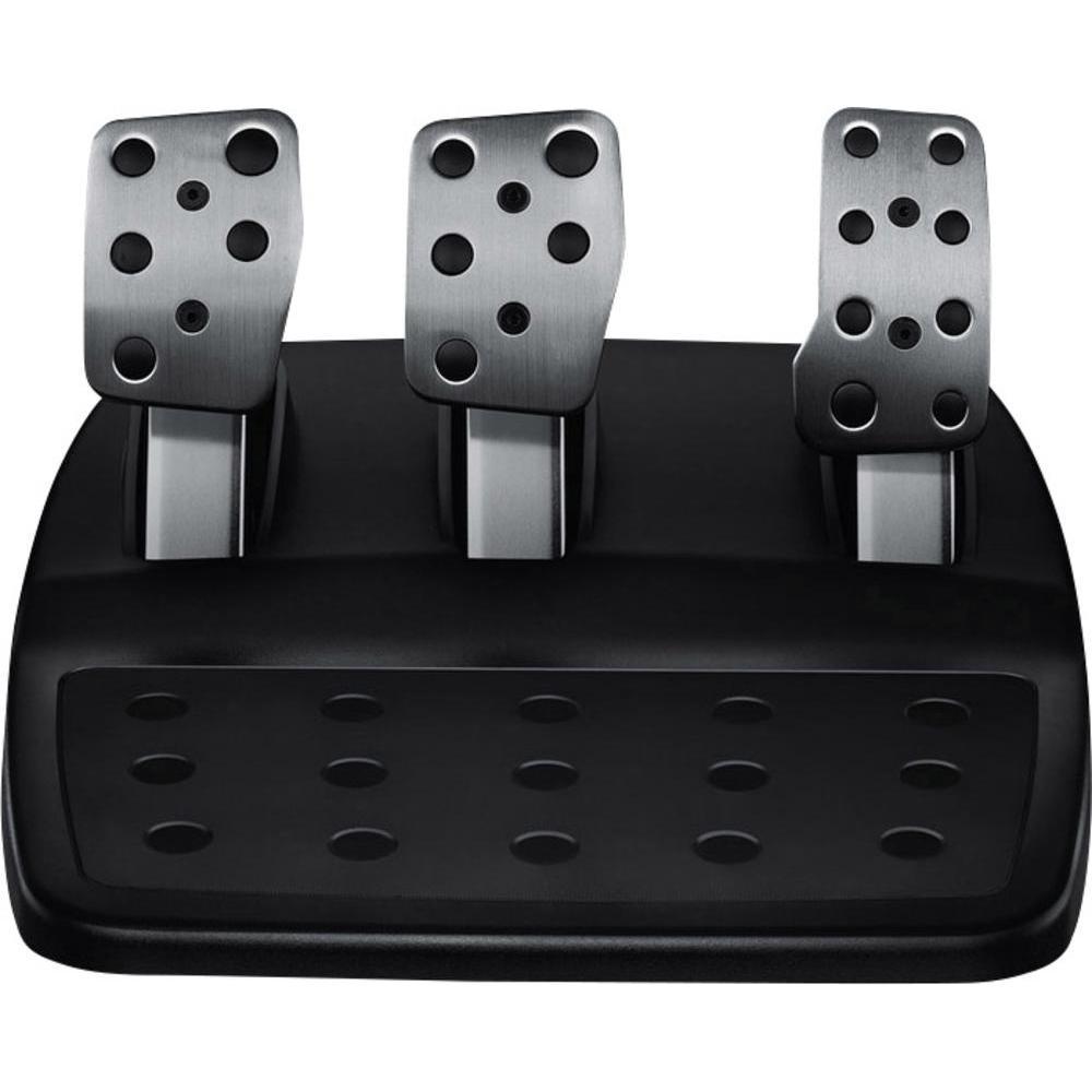 logitech g29 driving force rennlenkrad inkl pedale f r. Black Bedroom Furniture Sets. Home Design Ideas