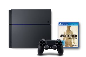 Sony PlayStation 4 mit 500GB (CUH-1216A) + Uncharted: The Nathan Drake Collection für nur 333,- Euro