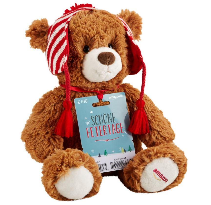 amazon 100 euro gutschein teddy