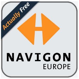 Die NAVIGON Europe für Android vollkommen gratis