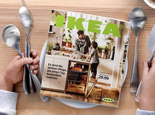 IKEA Katalog kostenlos nach Hause schicken lassen POÄNG