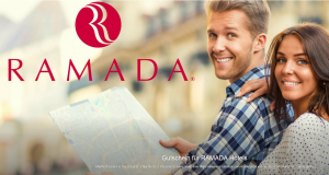 Prima als Geschenk! Gutschein für 2 x ÜF für 2 Personen in einem von 15 Ramada Hotels nur 99,- Euro – satte 3 Jahre gültig