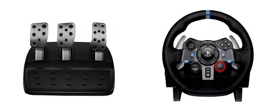 logitech g29 driving force rennlenkrad f r 193 99 euro. Black Bedroom Furniture Sets. Home Design Ideas