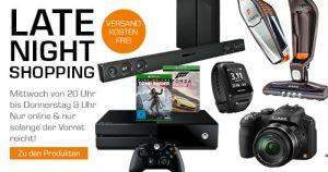 Saturn Late Night Deals am Mittwoch! Zum Beispiel mit Xbox One Forza Horizon Bundle für 294,- Euro!