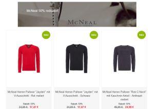 8e401546335f5c Aufgefüllt  50% Rabatt auf alle Artikel von McNeal bei Zengoes-Online! -  Snipz.de