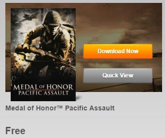 Origin! Medal of Honor: Pacific Assault PC USK18 komplett kostenlos downloaden!