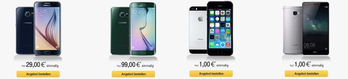 smartphones-auswahl