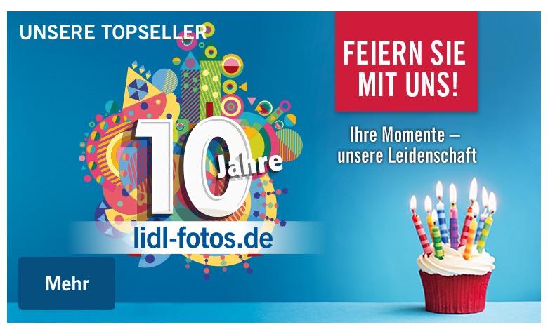 10,- Euro Rabatt auf Alles bei Lidl-Fotos – Nur 20,- Euro Mindestbestellwert