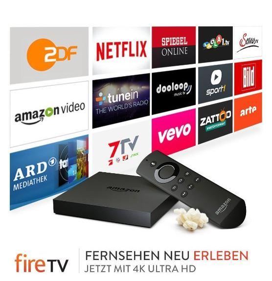 Primedeal! Das Amazon Fire TV mit 4K Ultra HD nur 74,99 Euro inkl. Versand