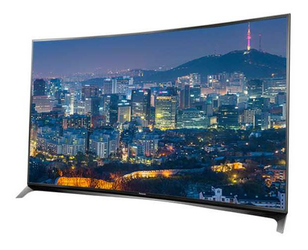 panasonic tx 65cr850e fernseher eu modell 65crw854 65 zoll ultra hd led tv curved design 4k. Black Bedroom Furniture Sets. Home Design Ideas