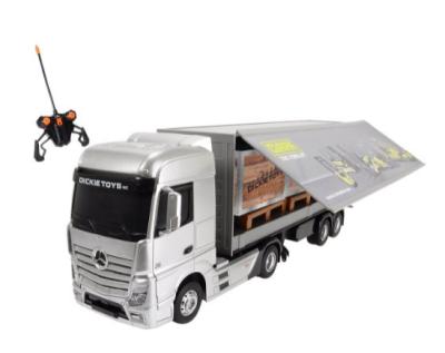 Ferngesteuerter Truck Dickie Spielzeug 201119884 – Mercedes Benz Actros für 39,90 Euro inkl. Versand