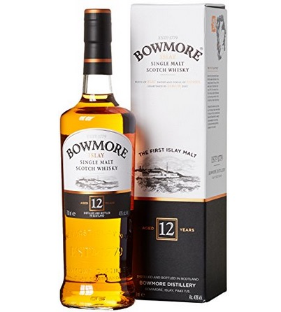 Bowmore 12 Jahre Islay Single Malt Scotch Whisky (1x 0,7 Liter) nur 23,11 Euro