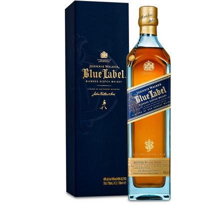 Knaller! Johnnie Walker Blue Label (1x 0,7 Liter) nur 59,99 Euro (Vergleich 119,33)