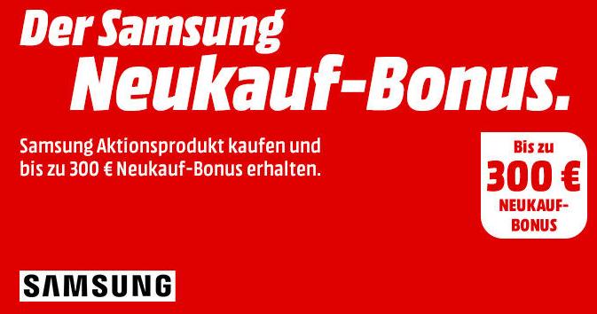 Neukauf Bonus auf alle Samsung Geräte -Viele Produkte zu aktuellen Bestpreisen