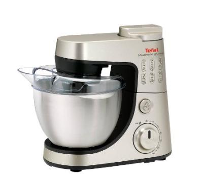 Tefal QB404H38 Küchenmaschine Masterchef Gourmet 900 W für 104,76 Euro.