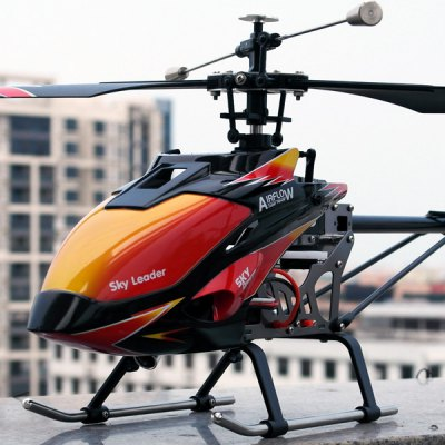 Top! 70cm großer WLtoys V913 2.4G 4-Kanal Helicopter mit Alu-Chassis für 64,56 Euro