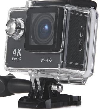Wieder da! H9 Ultra-HD 4K Action Camera mit Wifi und EU-Stecker jetzt für 36,23 Euro.