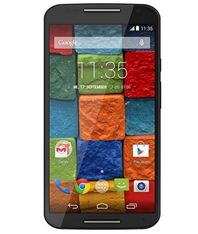 Motorola Moto X 2. Gen. Smartphone mit 32GB in Schwarz nur 179,99 Euro inkl. Versand