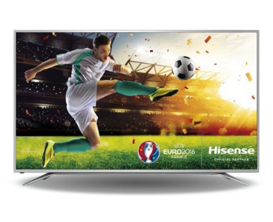 Hisense H65MEC5550 163 cm (65 Zoll) Fernseher (Ultra HD, Triple Tuner, Smart TV) für nur 999,- Euro inkl. Versand