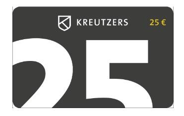 Kreutzers 25,- Euro Fleisch- und Genussgutschein für nur 15,- Euro – oder 2 Stück für nur 25,- Euro